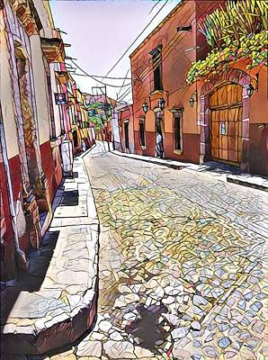 Wall Art - Photograph - Cobbled Street by Mary McGrath