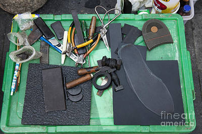 Shoe Repair Photograph - Cobblers Tools by Don Mason