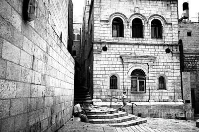 Photograph - Cobblestone Angles by John Rizzuto