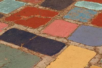 Photograph - Cobblestone Colors by Hany J