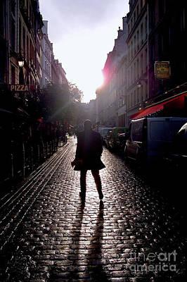 Rights Managed Images Photograph - Cobblestone Path Home Paris by Felipe Adan Lerma
