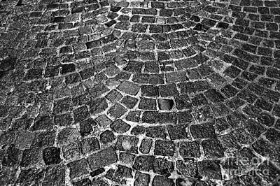 Photograph - Cobblestone Pattern by John Rizzuto