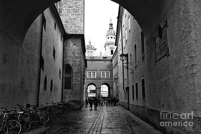 Photograph - Cobblestone Walk In Salzburg by John Rizzuto