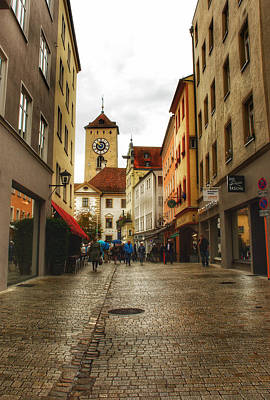 Photograph - Cobblestoned Streets by Kathi Isserman