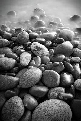 Photograph - Cobblestones, Lake Superior by Joshua Hakin