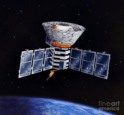 Cobe Satellite Art Print by Science Source