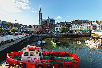 Citysape Photograph - Cobh Harbor by George Oze
