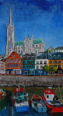 Painting - Cobh by Phil Davis