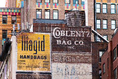 Photograph - Coblenz Bag Company by SR Green