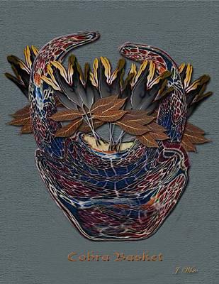 Cobra Basket Art Print by Jerry White