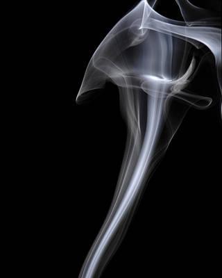 Smoke Art Photograph - Cobra by Bryan Steffy