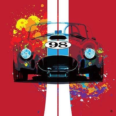 Digital Art - Cobra by Gary Grayson
