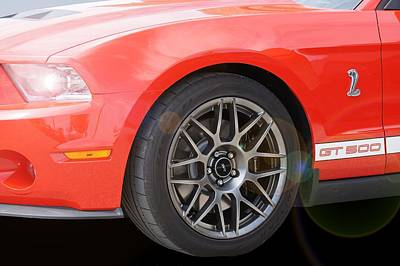Photograph - Cobra Gt 500 by David and Lynn Keller