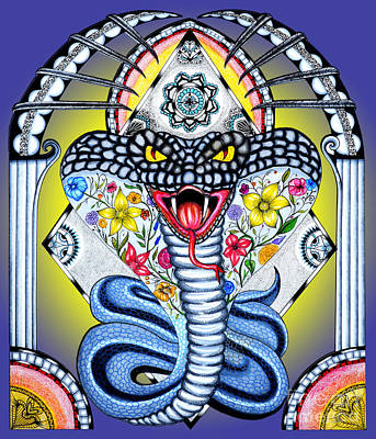 Cobra Mixed Media - Cobra I by Solongo
