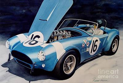 Cobra Painting - Cobra by Robert Hooper