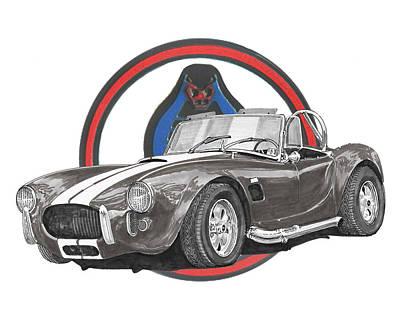 Painting -  Cobra Snake by Jack Pumphrey