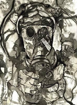 Cobra Art Print by Valera Ainsworth
