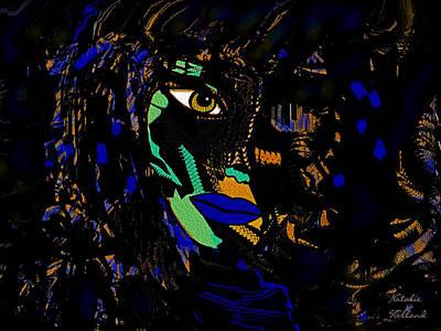 Outsider Art Mixed Media - Cobra Woman by Natalie Holland