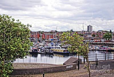 Photograph - Coburg Wharf - Liverpool by Doc Braham