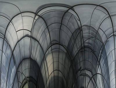 Cobweb Cathedral Art Print by Luc Vangindertael