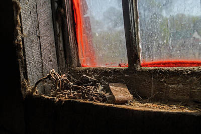 Photograph - Cobwebs And Rust by Alana Thrower
