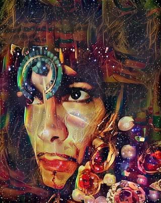 Digital Art - Coby Koehl. M by Richard Laeton