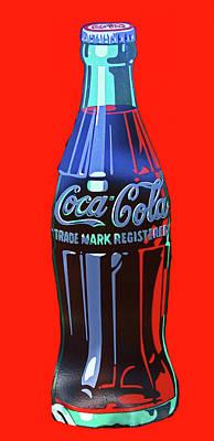 Photograph - Coca Cola by Allen Beatty