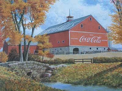 Coca Cola Americana Art Print by Jake Hartz