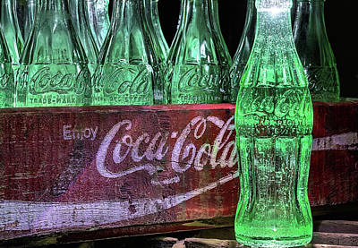 Photograph - Coca-cola As Art by JC Findley