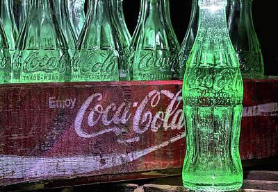 Coca-cola As Art Art Print