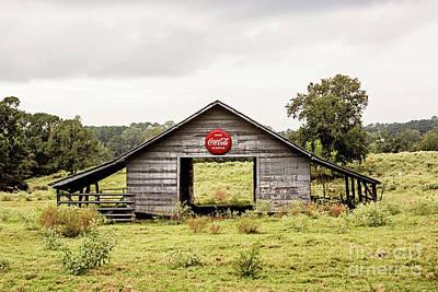 Photograph - Coca Cola Barn by Scott Pellegrin