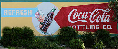 Photograph - Coca-cola Bottling - Sign by Debra Martz