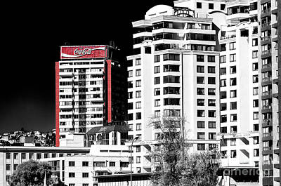 Photograph - Coca Cola Building In Vina Del Mar Chile by John Rizzuto