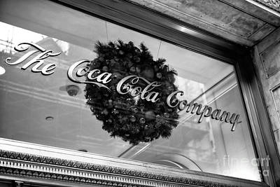 Coca Cola Company On 5th Avenue Art Print by John Rizzuto