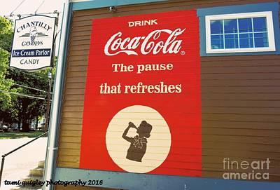Photograph - Coca Cola Corner  by Tami Quigley