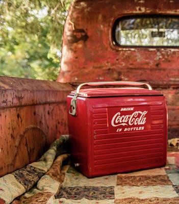 Coca-cola Print by Cynthia Wolfe