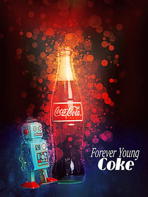 Photograph - Coca-cola Forever Young 15 by James Sage