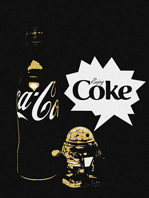 Art Print featuring the photograph Coca-cola Forever Young 7 by James Sage