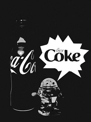 Art Print featuring the photograph Coca-cola Forever Young 9 by James Sage