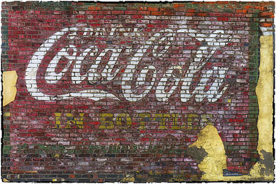 Photograph - Coca Cola Ghost Sign Sedalia Mo Dsc01928-1 by Greg Kluempers
