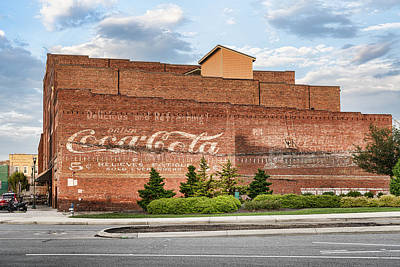Photograph - Coca Cola Ghost Sign by Sharon Popek