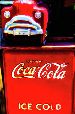 Coca-cola Signs Photograph - Coca Cola Ice Cold by Garry Gay