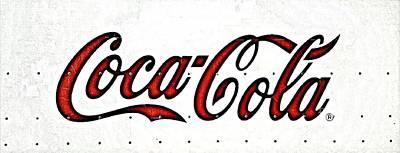 Bottling Company Photograph - Coca Cola Iconic Logo by Scott D Van Osdol