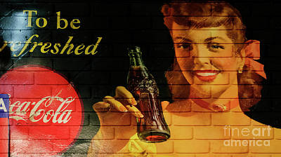 Manipulation Photograph - Coca Cola Memorbelia 8 by Bob Christopher