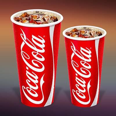 David Drawing - Coca Cola  by Movie Poster Prints