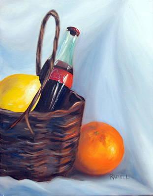 Lemon Drops Painting - Coca-cola by Rachel Lawson