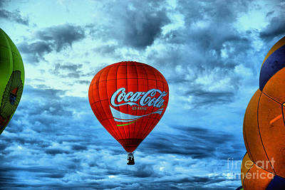 Birds Rights Managed Images - Coca cola rising Royalty-Free Image by Jeff Swan