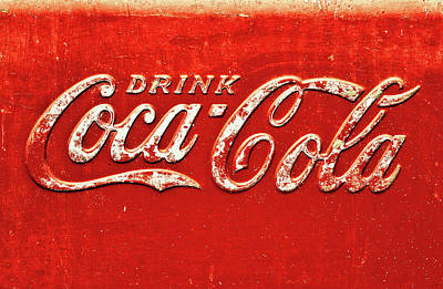 Coca-cola Antique Ice Chest Photograph - Coca Cola Rustic by Stephen Anderson
