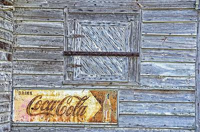 Photograph - Coca-cola Sign by Jan Amiss Photography