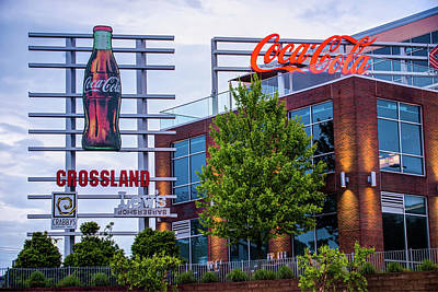 Photograph - Coca Cola Sign - Pinnacle Hills - Northwest Arkansas by Gregory Ballos